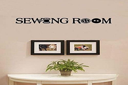 Sewing Room Vinyl Wall Art Decal