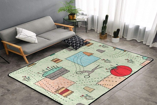 NiYoung Vintage Sewing Floor Mat
