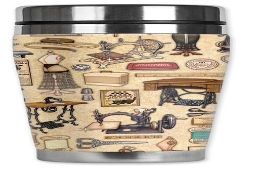 Mugzie Sewing Supplies Travel Mug