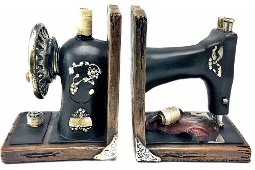 Bellaa Sewing Machine Bookends