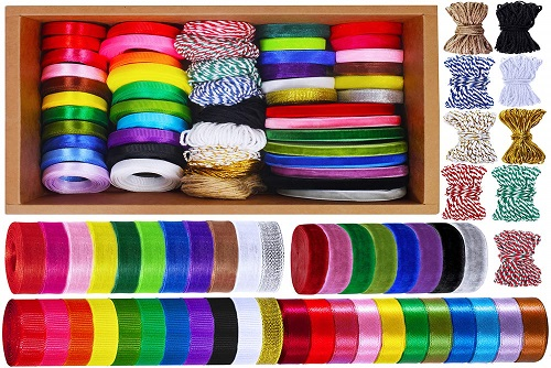 Supla 50 Rolls Of Ribbon
