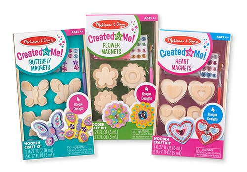 Paint & Decorate Your Own Wooden Magnets