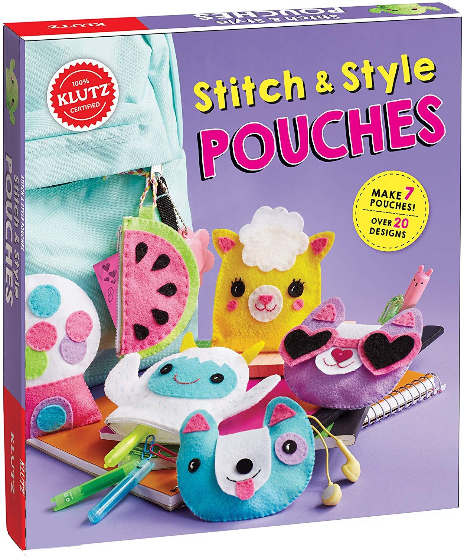 Stitch & Style Pouches Sewing Kit