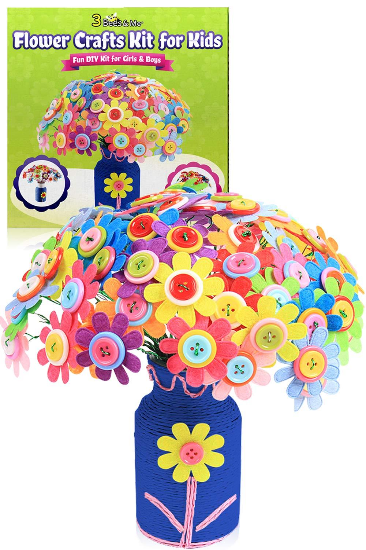 3 Bees & Me Flower Crafts Kit