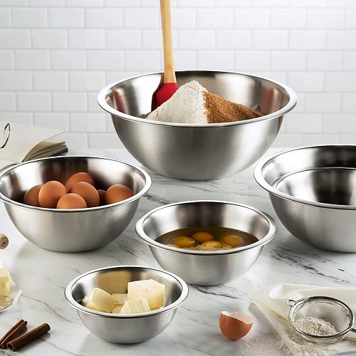 Stainless Steel Nesting Mixing Bowl Set
