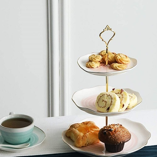 3 Tier Ceramic Pastry Stand