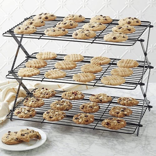 Collapsible 3-Tier Cooling Rack
