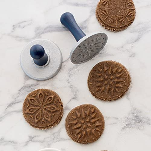 Nordic Ware Starry Night Cast Cookie Stamps