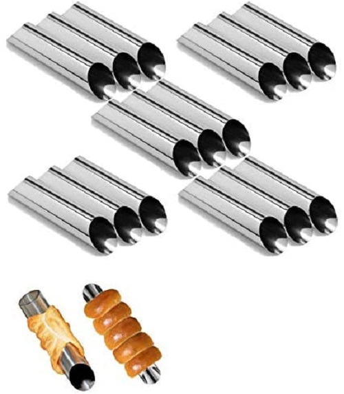 Stainless Steel Cannoli Tubes
