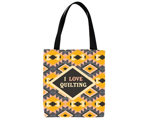 I Love Quilting Tote